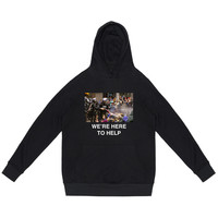 We're Here To Help 2 Pullover Hoodie