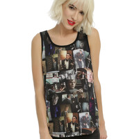 American Horror Story Evan Peters Collage Girls Tank Top