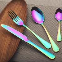 Rainbow Reflection 4-PC Flatware Set