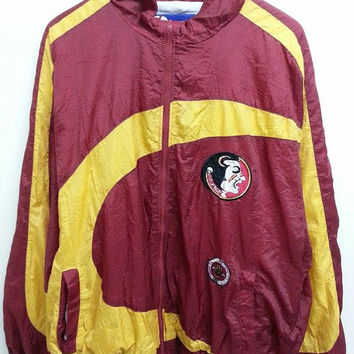Sale Vintage Pro Player Florida University Sweater Windbreaker Hip Hop Jacket