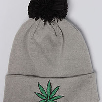 BGRT - The Chronic Beanie - Heather Gray - One Size