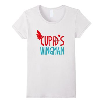 Valentines Day Shirt Cute Kids Funny Love Cupids Wingman