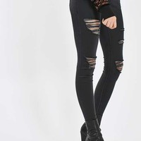 MOTO Washed Black Leigh Jeans - Jeans - Clothing