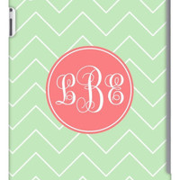 Monogram Vine Print Chevron iPad 2, 3 & Retina Slim Case