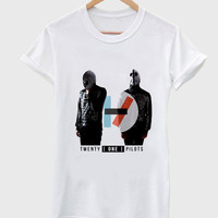 Twenty One Pilots consist of Tyler Joseph and Josh Dun T shirt