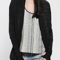 Alternative Thumbs Up Knit Wrap Cardigan