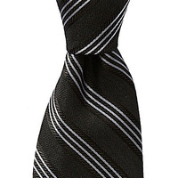 Murano Slim Striped Silk Tie