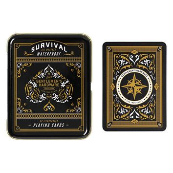 WILD AND WOLF SURVIVAL PLAYING CARDS