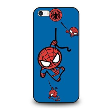 spiderman kawaii marvel avengers iphone se case cover  number 1