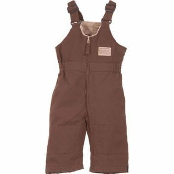 C.E. Schmidt Infant's Sanded/Washed Duck Quilt-Lined Insulated Bib Overall