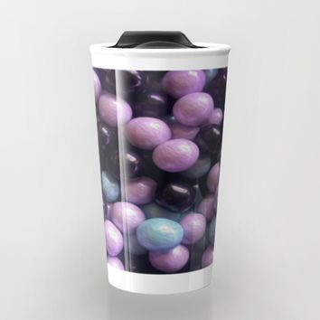 Marble Candy Travel Mug by Gwendalyn Abrams