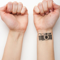 Wound Up- Temporary Tattoo (Set of 2)