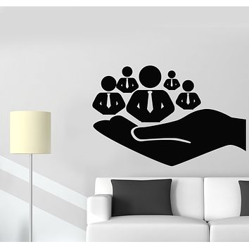 Vinyl Wall Decal Management Human Resources HR Office Decor Stickers Mural (g2624)