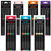 Buy The Complete Collection - 7 Spectrum Noir Sparkle Pens 3pc Sets and SAVE 15% OFF!