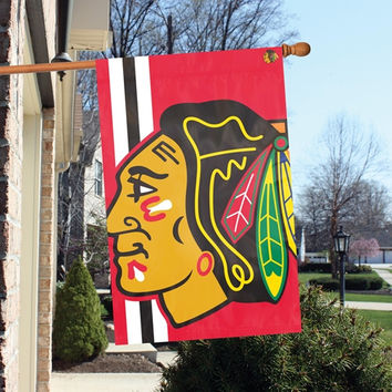 NHL Chicago Blackhawks BOLD LOGO BANNER