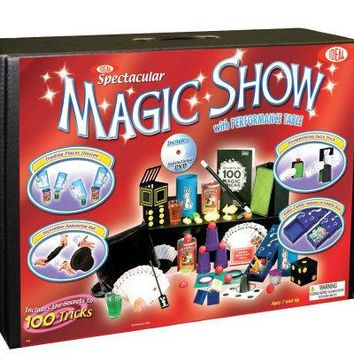 100-Magic Tricks, Spectacular Show Suitcase Kit