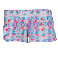 Hybrid Fitness Boho Sunset Running Short
