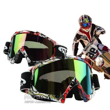 ac NOOW2 New Man/Women Motocross Goggles Glasses Cycling MX Off Road Helmets Goggles Sport Gafas For Motorcycle Dirt Bike Oculos Moto