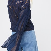 Free People Something Like Love Top