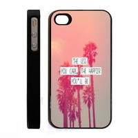Generic Hard Case Cover for Apple iPhone 4, 4G & 4S - Black