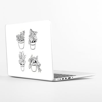 Desk Plants Laptop Skin