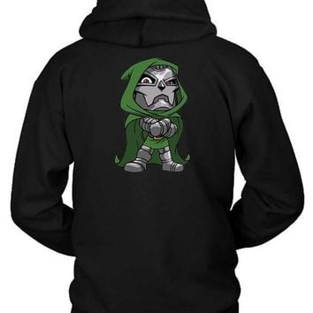 Marvel Crew Hoodie Two Sided