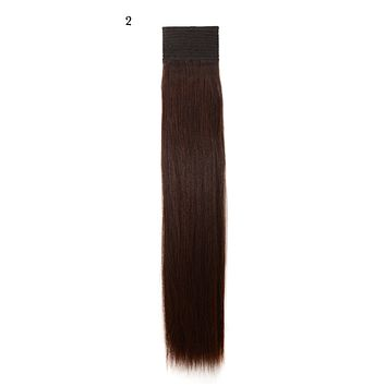 Weft Human Hair Extensions: Color #2 Darkest Brown