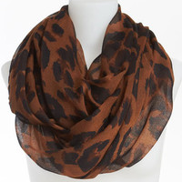 David & Young Animal Print Infinity Scarf | Nordstrom