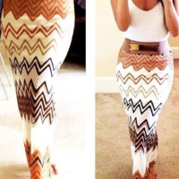 FASHION CUTE COLORFUL SKIRT