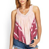 Tie-Dyed Crochet Top