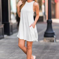 Perfect Pace Dress, Ivory