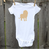 Lion Onesuits®, Safari Baby Shower