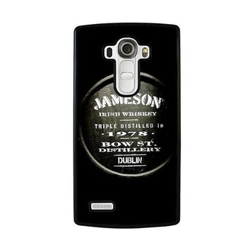jameson whiskey lg g4 case cover  number 1