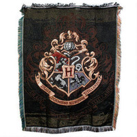Exclusive Hogwarts Crest Tapestry Throw |