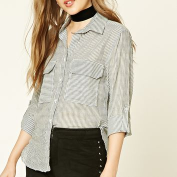 Pinstripe Pocket Shirt