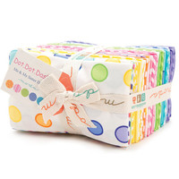 Dot Dot Dash Fat Eighth bundle by Me and My Sister Designs for Moda Fabrics