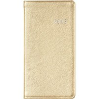 2015 Small Gold Date Book