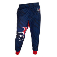 Forever Collectibles Polyester Men's Jogger Pants NFL Houston Texans Case