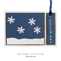 Christmas greeting card.Snow flakes greeting card.Dark night greeting card.Snow flakes christmas card.New year christmas card