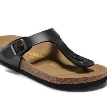 fc270fedd Men s and Women s BIRKENSTOCK sandals Gizeh Birko-Flor Patent 6