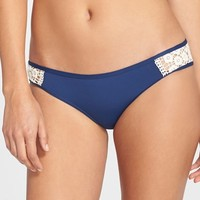 Women's Lucky Brand 'Natural Connection' Hipster Bikini Bottoms