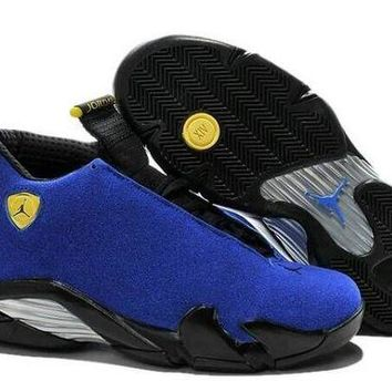 ONETOW Jacklish New Release Air Jordan 14 Ice Blue Customs For Sale