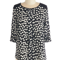 ModCloth Mid-length 3 Small Indulgence Top
