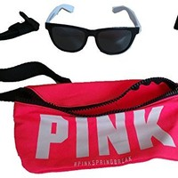 VICtORIA'S SECRET PINK Fanny pack & Sunglasses -PINK
