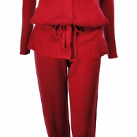 Sutton Studio Women's Silk & Cashmere Anorak Lounge Set