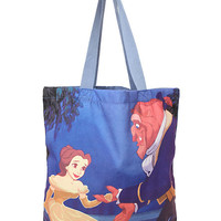 Disney Beauty And The Beast Balcony Tote Bag