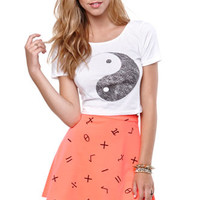 Nollie Ying Yang Cropped Tee at PacSun.com