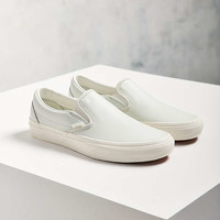 Vans Classic Leather Slip-On Sneaker - Urban Outfitters