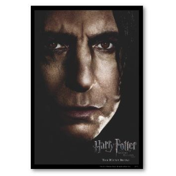 Deathly Hallows - Snape Poster from Zazzle.com