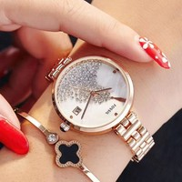 8DESS Fossil Woman Men Fashion Quartz Movement Wristwatch Watch